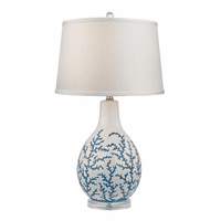 Sixpenny Table Lamp - Blue