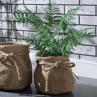 Small Cloth Sack Cement Pot