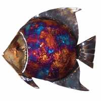 Small Copper Dripped Angelfish - Set of 3