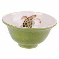 Small Light Green Turtle Bowls - Set of 6