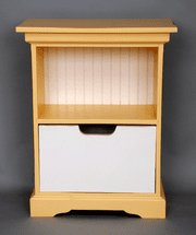 Small Painted Shelf Tower - OUT OF STOCK