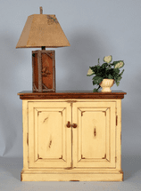 Small Sumter Enclosed Bookcase - OUT OF STOCK