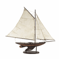 "Small Yacht ""Ironsides"" Model"