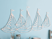 Smooth Sailing Metal Wall Art - OUT OF STOCK UNTIL 1/2/2021