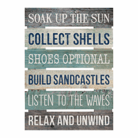 Soak Up the Sun Wood Wall Art