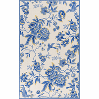 Sonesta Ivory and Blue Provence Rug Collection