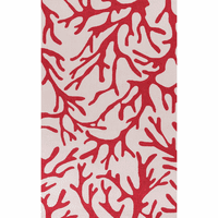 Sonesta Ivory and Rust Coral Rug Collection