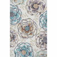 Sonesta Ivory Floral Silhouette Rug Collection