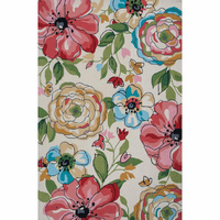Sonesta Sand Floral Splash Rug Collection