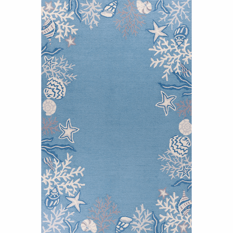 Peaceful Seas Rug - 5 x 8