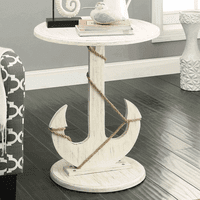 South Harbor Anchor Accent Table