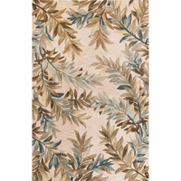 Sparta Ivory Tropical Branches Rug Collection