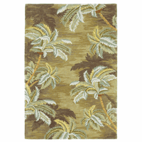 Sparta Moss Palm Trees Rug Collection