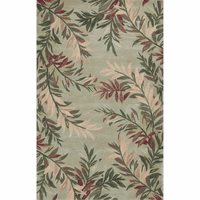 Sparta Sage Tropical Branches Rug Collection