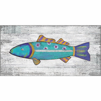 Spectrum Fish Wall Art