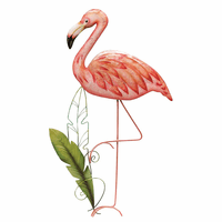 St. Croix Flamingo Wall Art