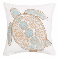 St. Ives Sea Turtle Pillow