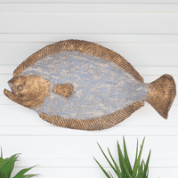 St. Kitts Painted Fish Wall Art