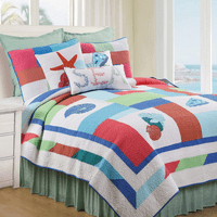 St. Kitts Quilt Bed Set - Twin