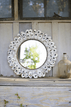 St. Lucia Shell Mirror