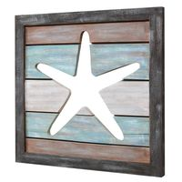 Starfish Cutout Wall Hanging