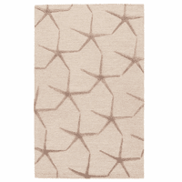 Starfish Dance Beige Rug Collection