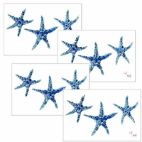 Starfish Placemats - Set of 4