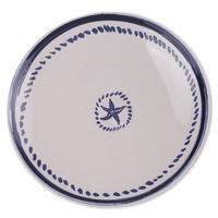 Starfish Salad Plates - Set of 6