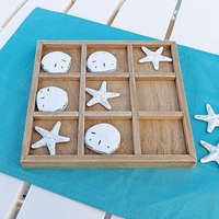 Starfish & Sand Dollar Tic Tac Toe Set