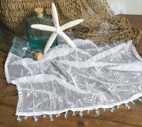 Starfish Seabed Lace Runner - 15 x 36