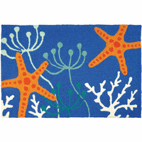 Starfish Serenity Indoor/Outdoor Rug