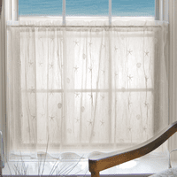Starfish Shells Lace Window Tier - 45 x 36 - OVERSTOCK