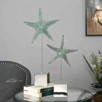 Starfish Splash Sculptures - Set of 2
