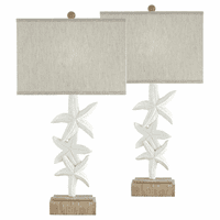 Starfish Stack Table Lamp - Set of 2