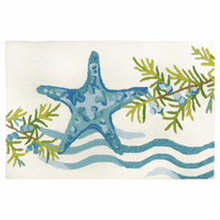 Starfish Waves Accent Rug