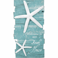 Starfish Welcome Wall Art