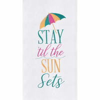 Stay Flour Sack Towels - Set of 6