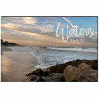 Still Waters Wrapped Canvas Art