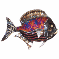 Striped Belly Copper Dripped Fish - Large