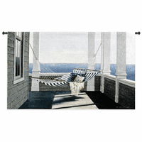 Striped Hammock Wall Tapestry