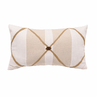 Stripes & Lattice Pillow