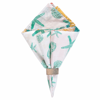 Summer Beach Napkins - Set of 12