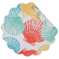 Summer Beach Round Placemats - Set of 6