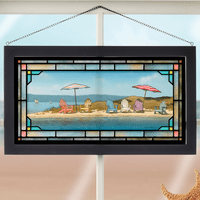 Summer Colors Stained Glass Art