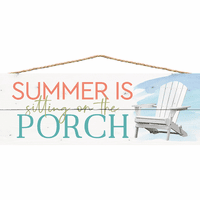 Summer on the Porch Wall Décor