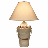 Summer Shell Bucket Table Lamp