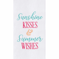 Summer Wishes Flour Sack Towels - Set of 6