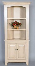 Summerville Corner Cabinet - OUT OF STOCK