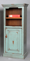 Sumter Narrow Bookcase with Door - OUT OF STOCK