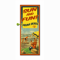 Sun and Fun Personalized Signs